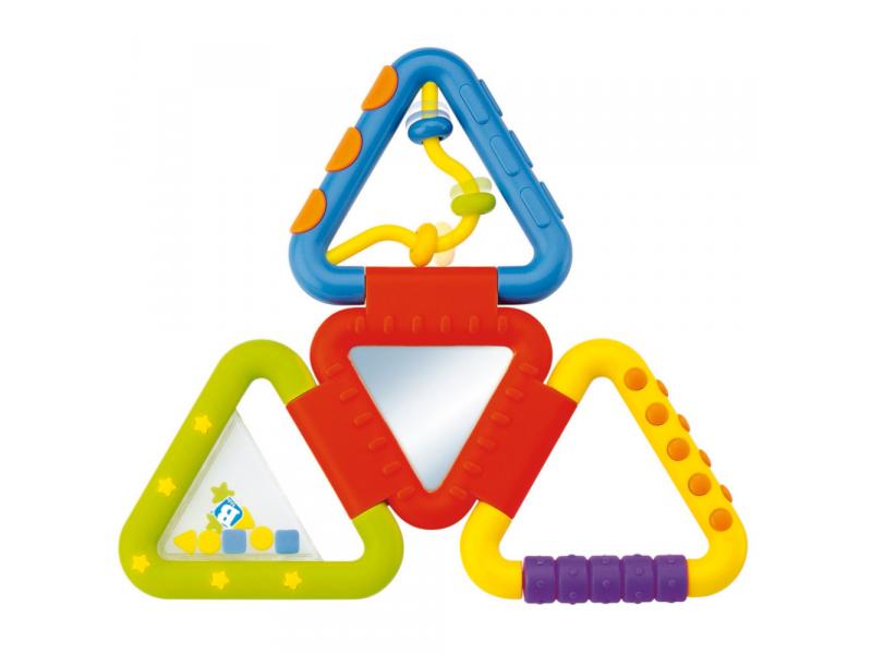 Hrkálka skladacie trojuholníky