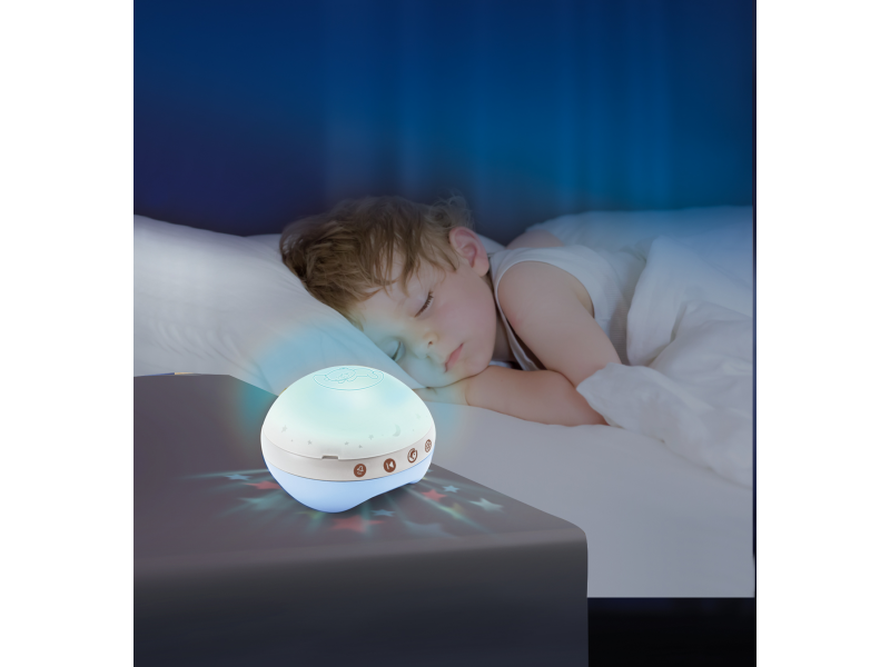 Infantino Hudební kolotoč s projekcí 3v1 modrý