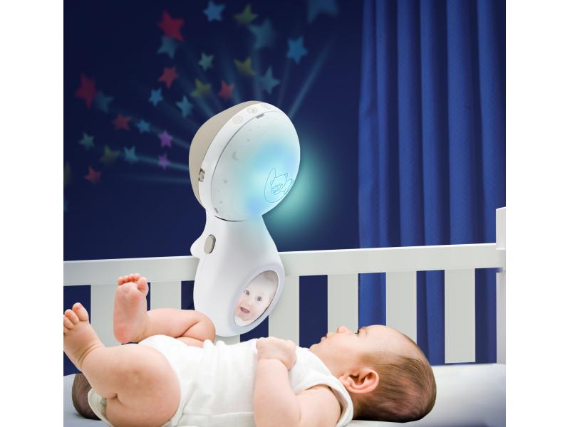 Infantino Hudební kolotoč s projekcí 3v1 ecru