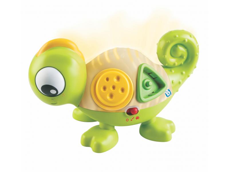 B-Kids Senzorický svítící Chameleon