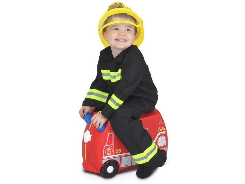Kufřík + odrážedlo hasičský vůz Frankie