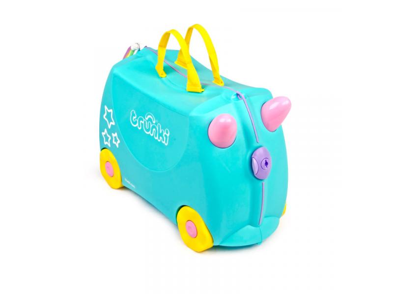 Kufřík + odrážedlo Unicorn