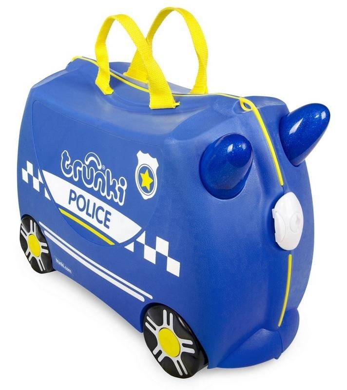 Kufřík + odrážedlo policejní auto Percy