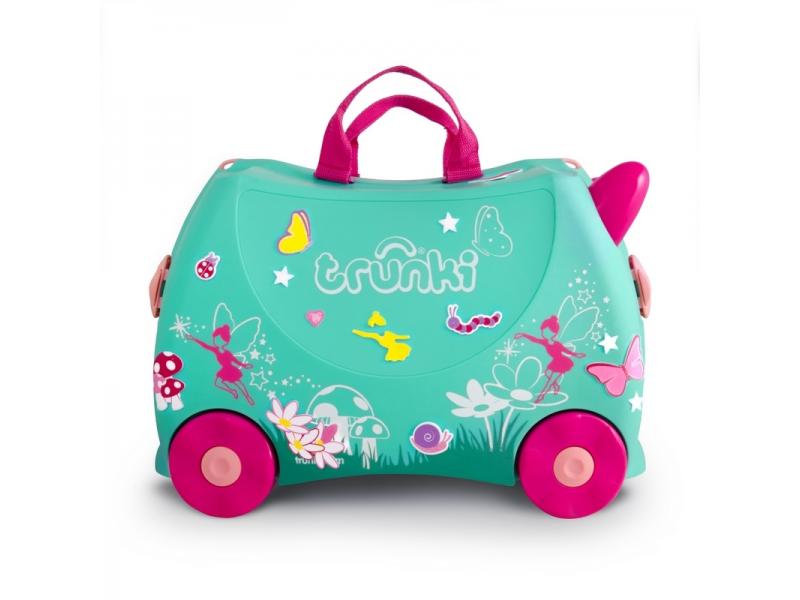 Trunki kufrík + odrážadlo FLORA THE FAIRY