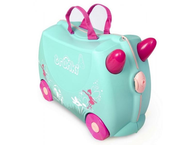 Kufřík + odrážedlo víla Flora
