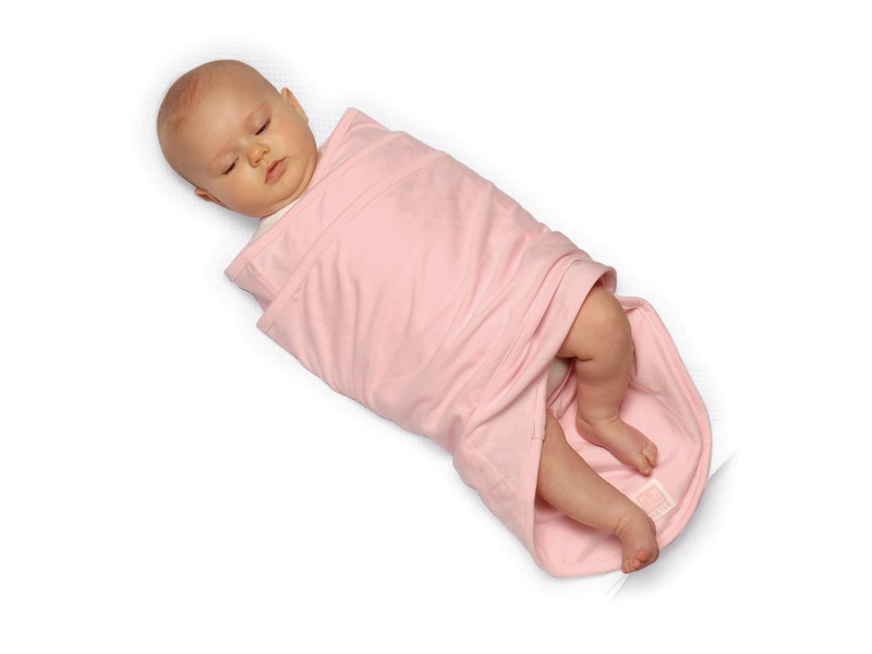 Zavinovačka Miracle blanket růžová