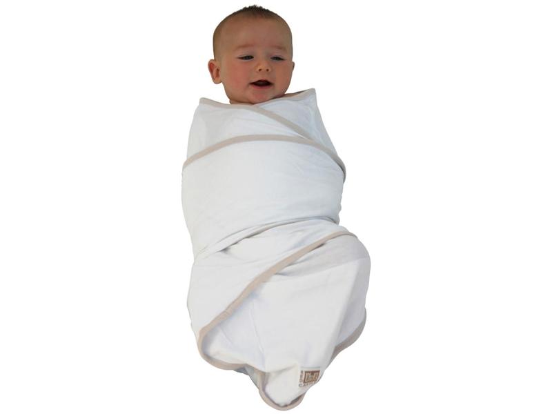 Zavinovačka Miracle blanket bílá-béžová