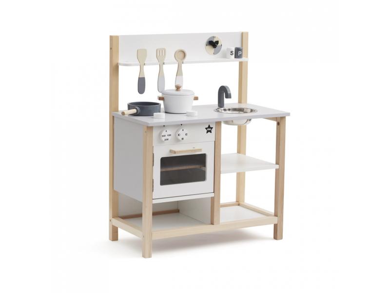 Kuchyňka dřevěná Natural White Bistro