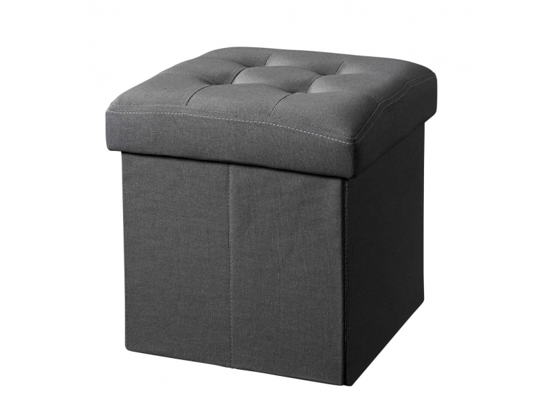 Úložný taburet Dark Grey