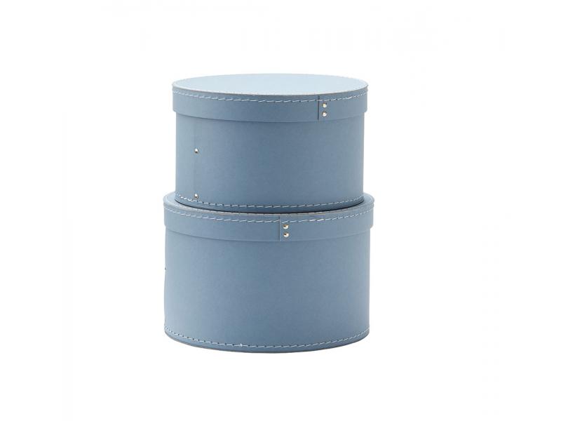 Krabice kulatá 2 ks Blue