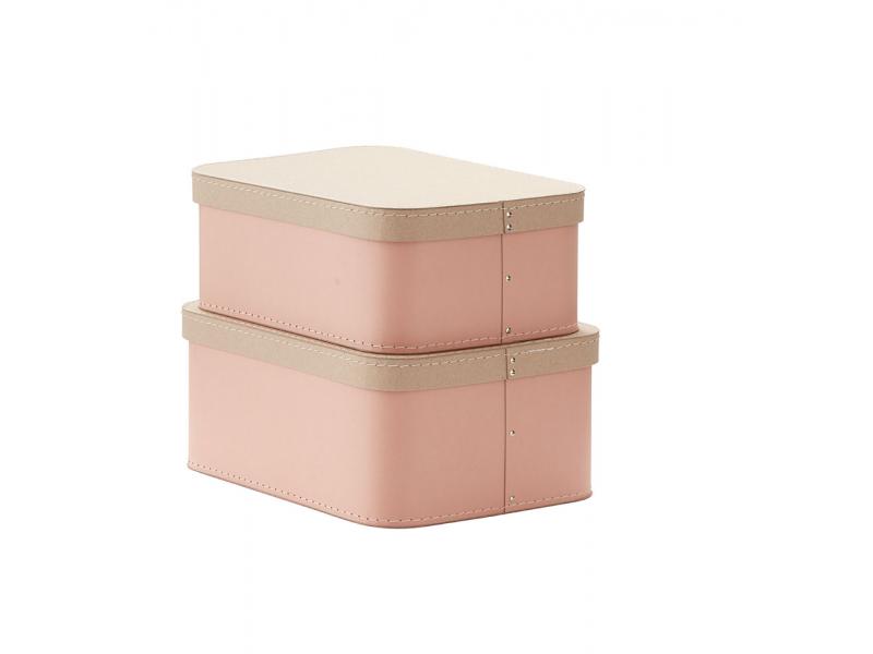 Krabice 2 ks Pink