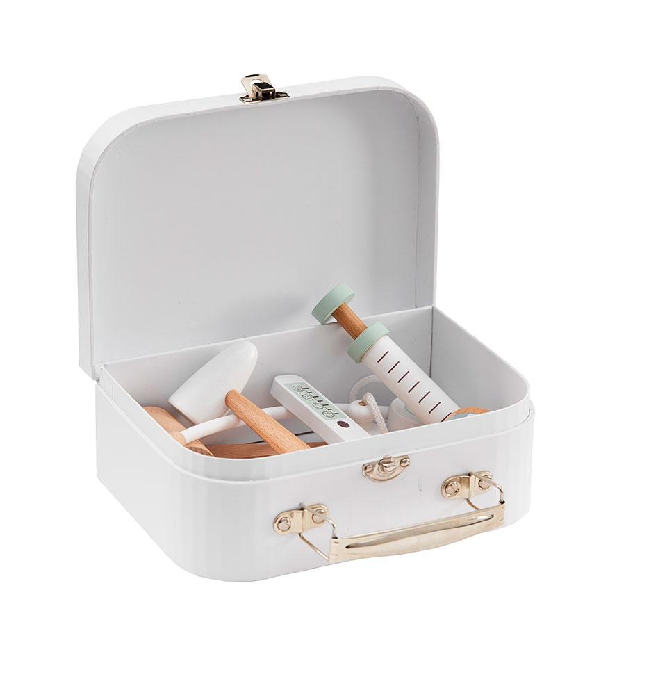 Doktorský kufrík biely