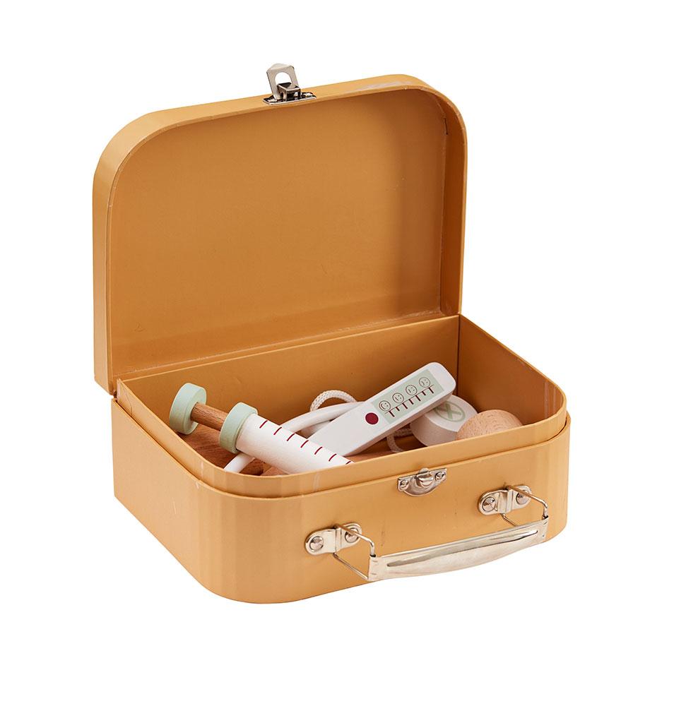Doktorský kufrík prírodný