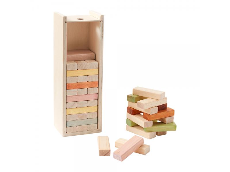 Kostky dřevěné
