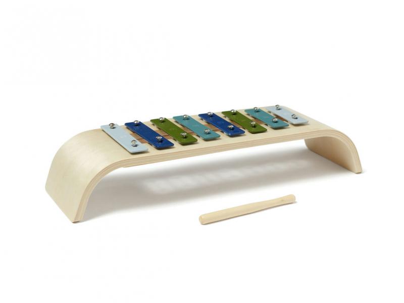 Xylofon dřevěný Blue