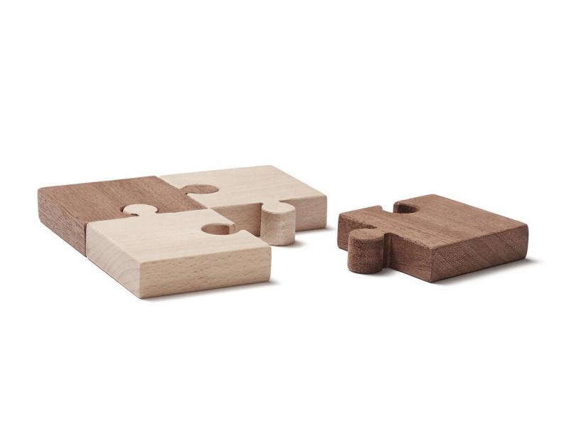 Puzzle dřevěné 4 ks Neo
