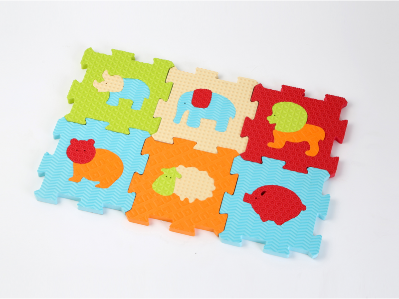 Puzzle penové 46,5x31,5 cm zvieratká