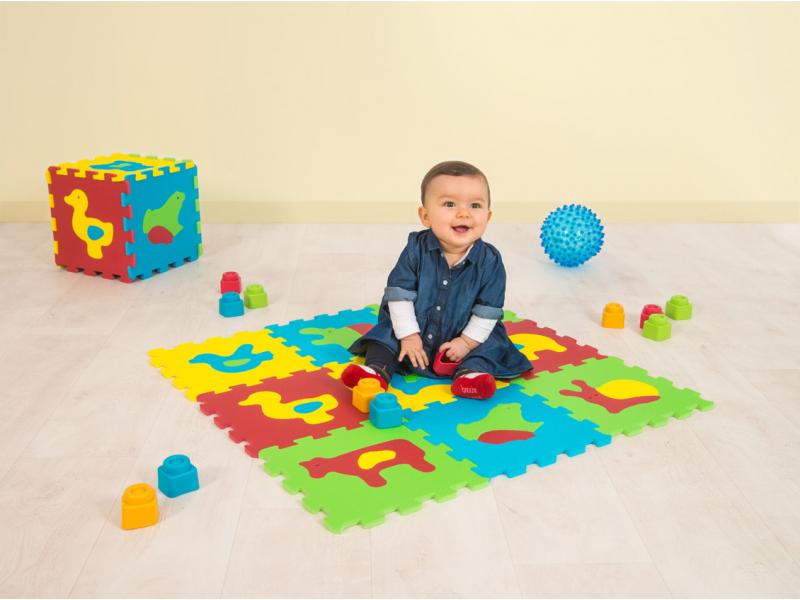 Puzzle pěnové 84x84 cm zvířátka Basic