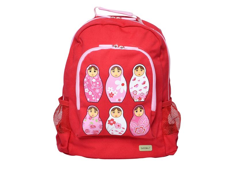 Dětský batoh velký červený / růžový