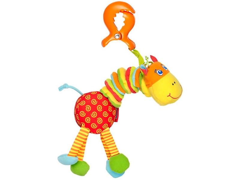 Tiny Love Vyklepaná žirafa TINY SMART, 0+m