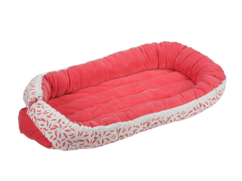 Kikadu Hnízdo pro miminko růžové