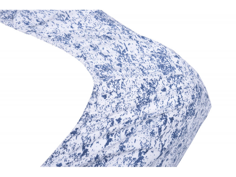 Kikadu Přebalovací podložka malá modrá