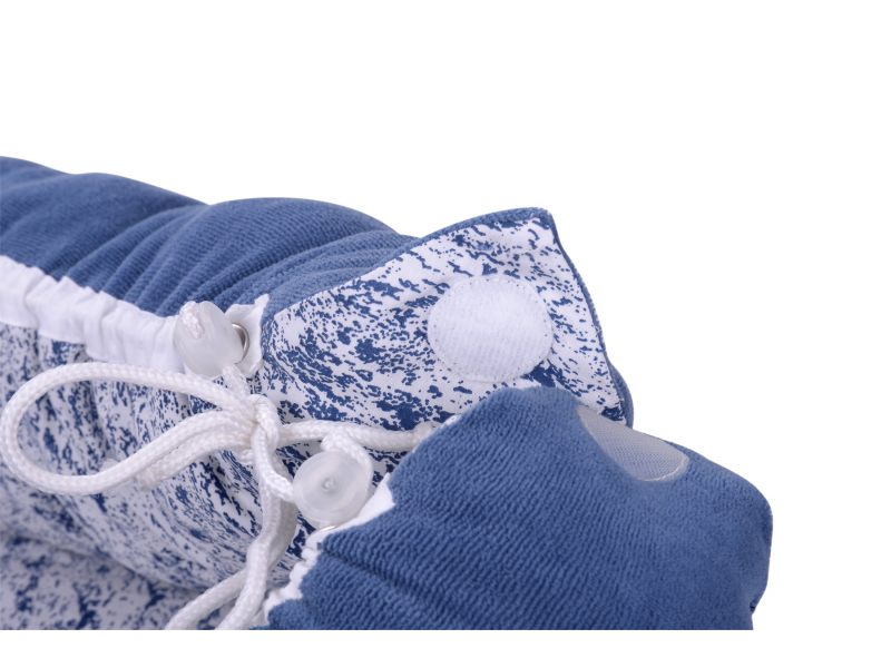 Kikadu Hnízdo pro miminko modré