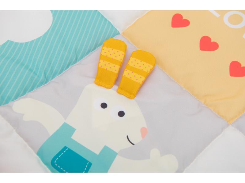 Hracia deka I Love pastelové farby