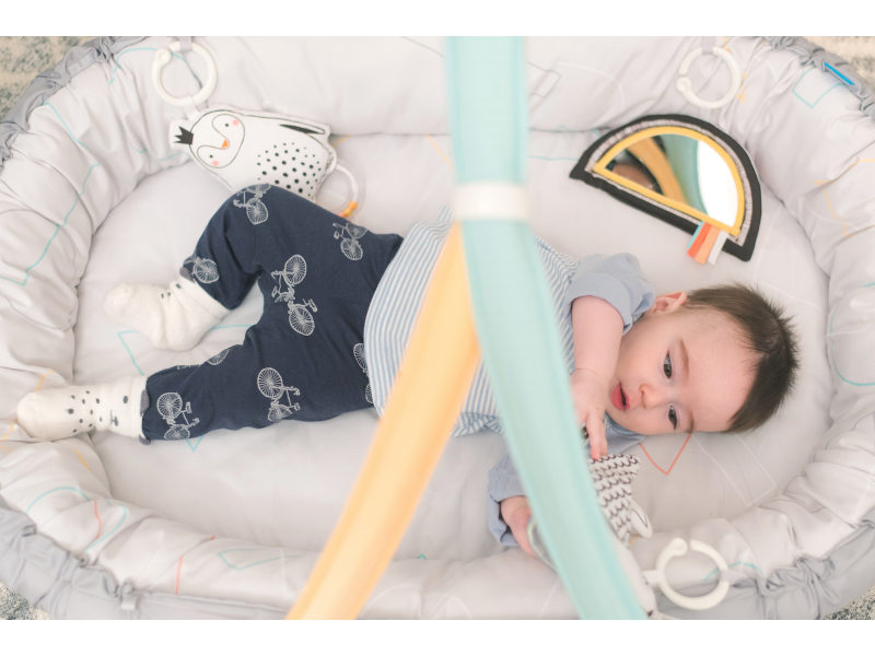 Hracia deka & hniezdo s hudbou pre novorodencov