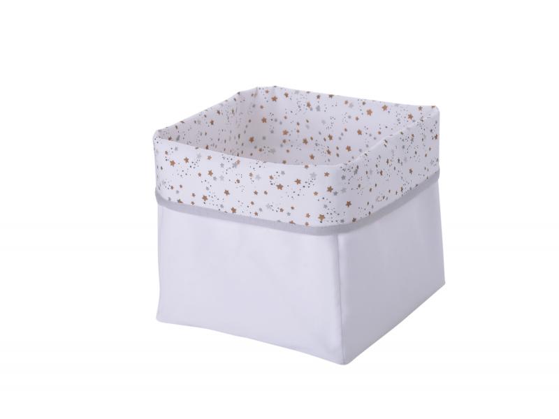 Textilní krabice hvězdičky