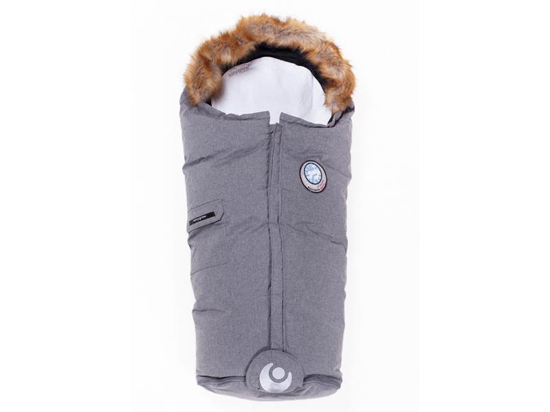 Fusak zimní NATURE Grey Melange