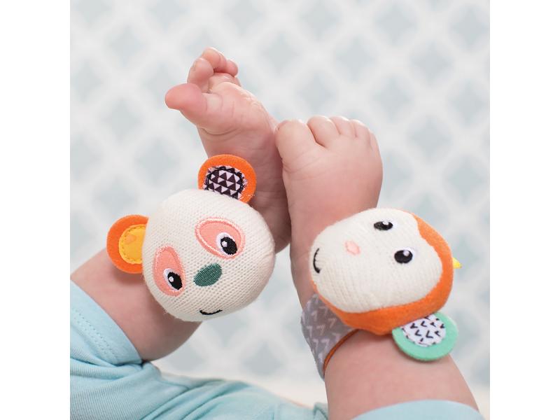 Hrkálky na ruku Opička a Panda