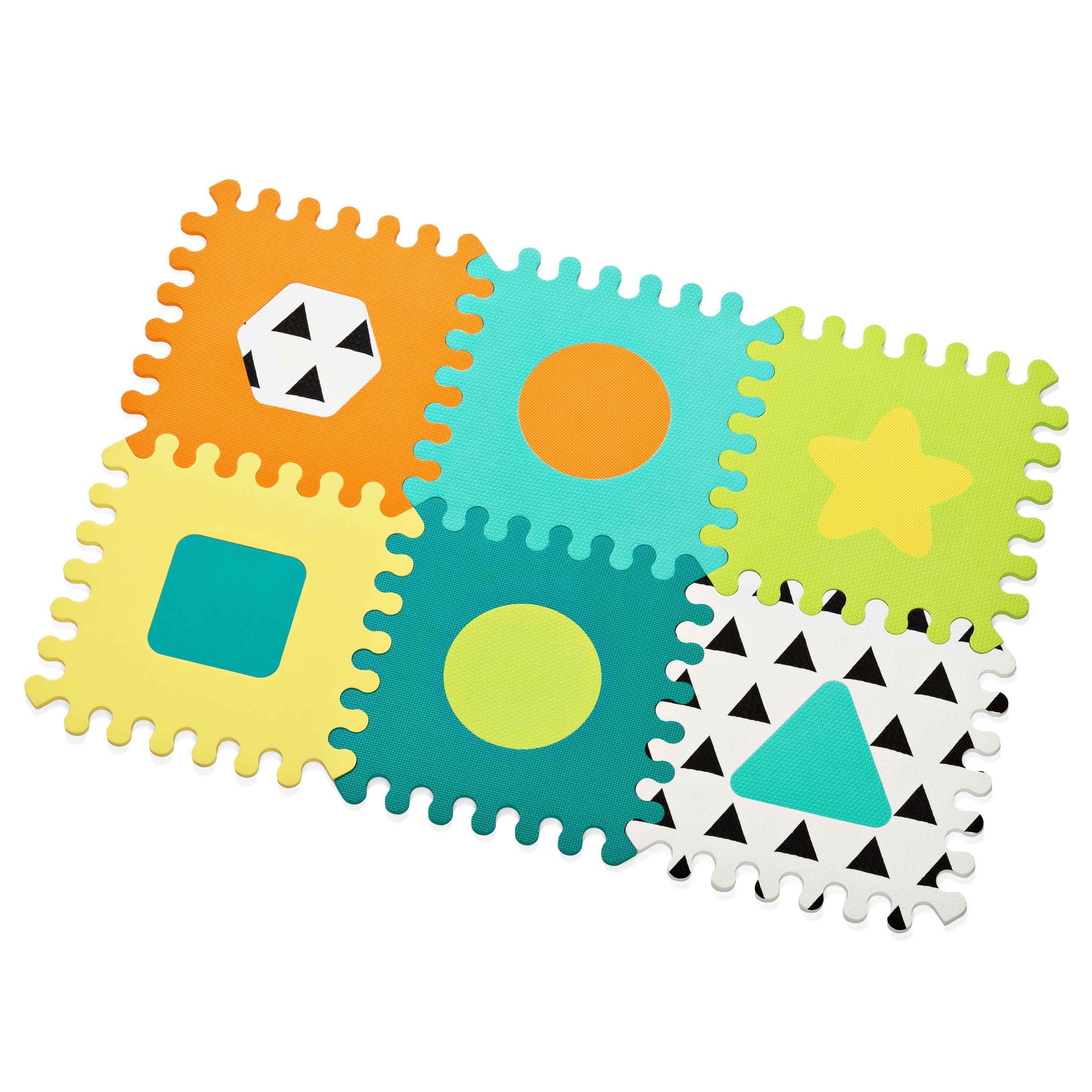 Penové puzzle veselé tvary
