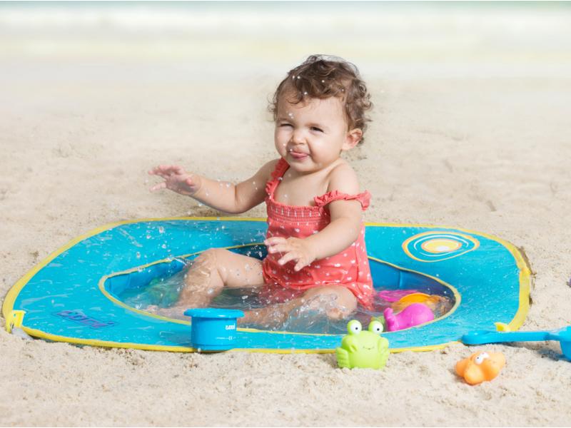 Skládací bazén na pláž
