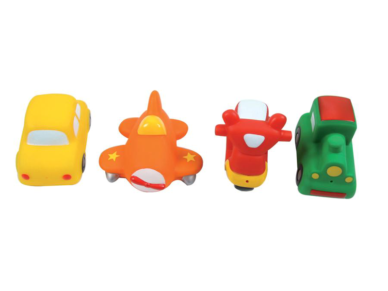 Hračky do vody transport 4ks