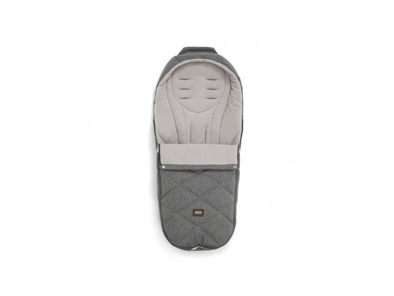 Mamas & Papas Fusak zimní Plus Grey Twill