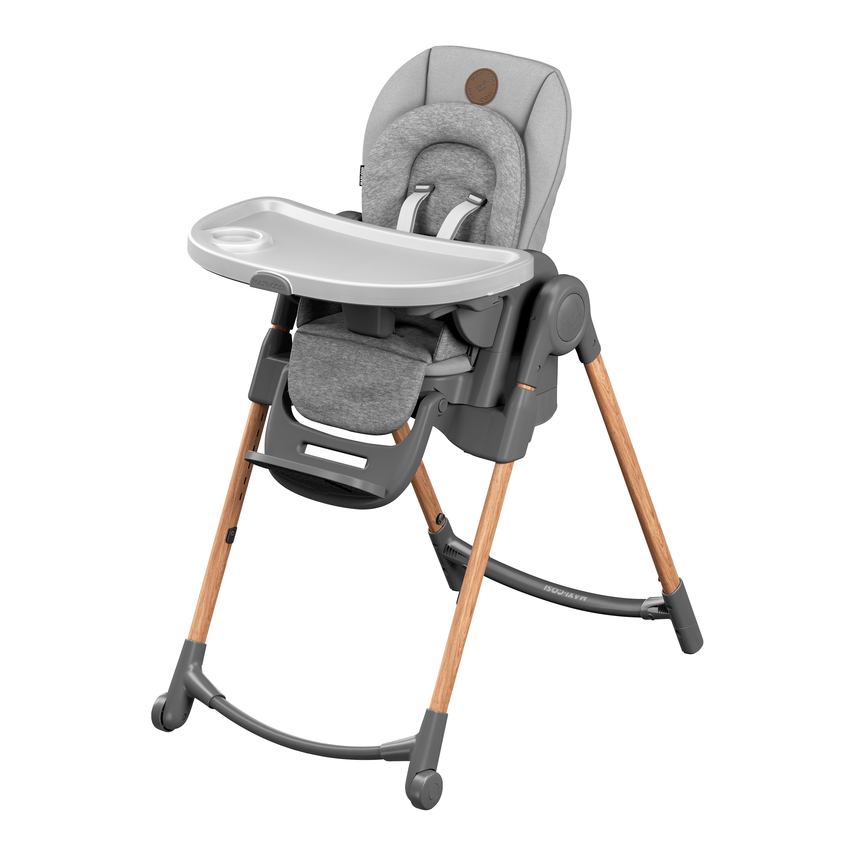 Minla rastúca stolička Essential Grey