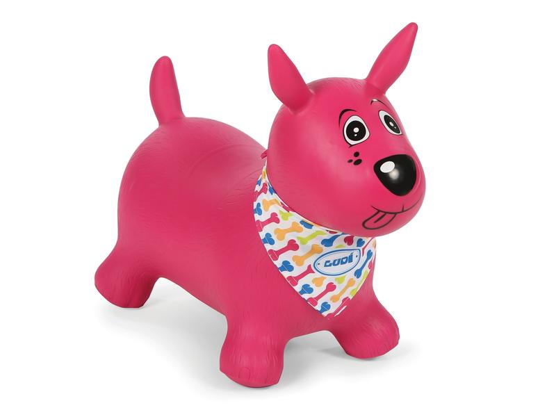 Skákací pes ružový