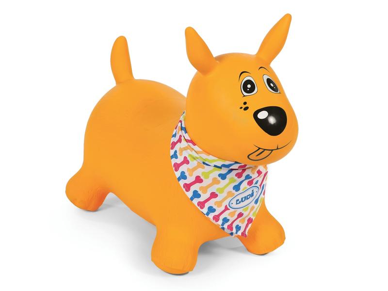 Skákací pes žltý