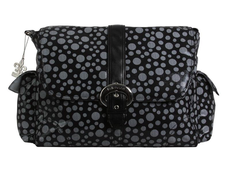 Přebalovací taška Buckle Bag Bubbles Black