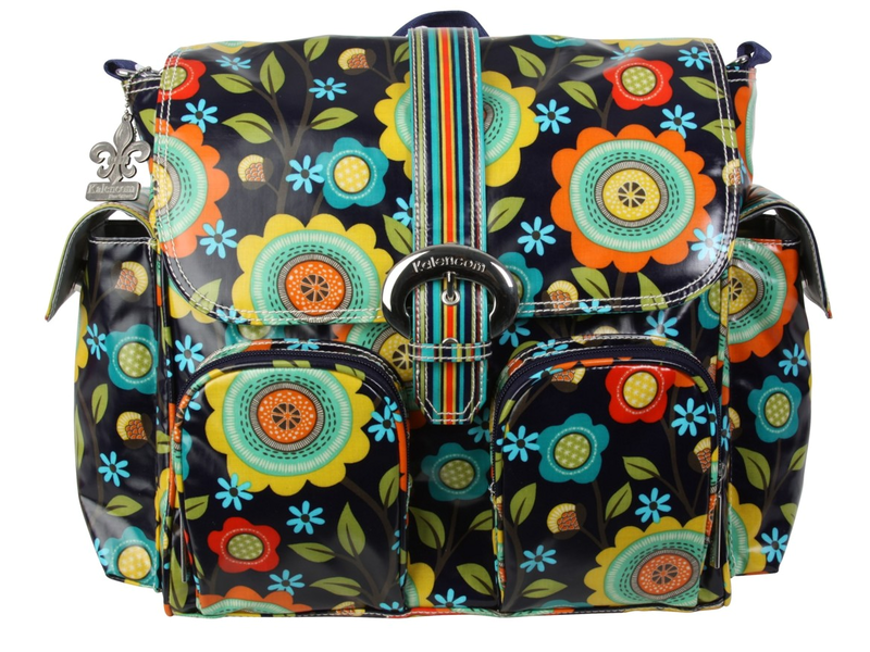 Přebalovací taška Double Duty Floral Stitches
