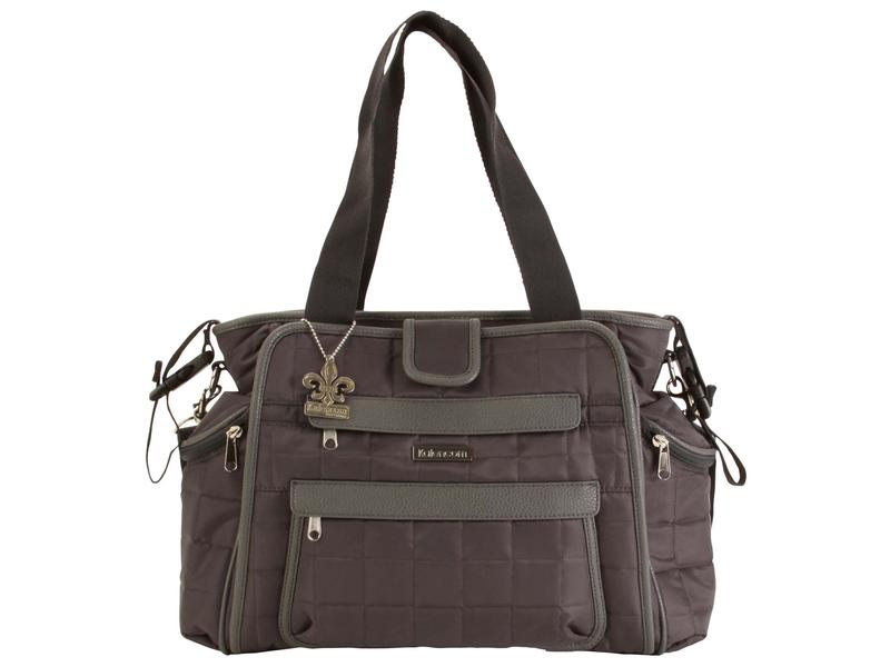 Přebalovací taška Nola Quilted Nylon-Asphalt