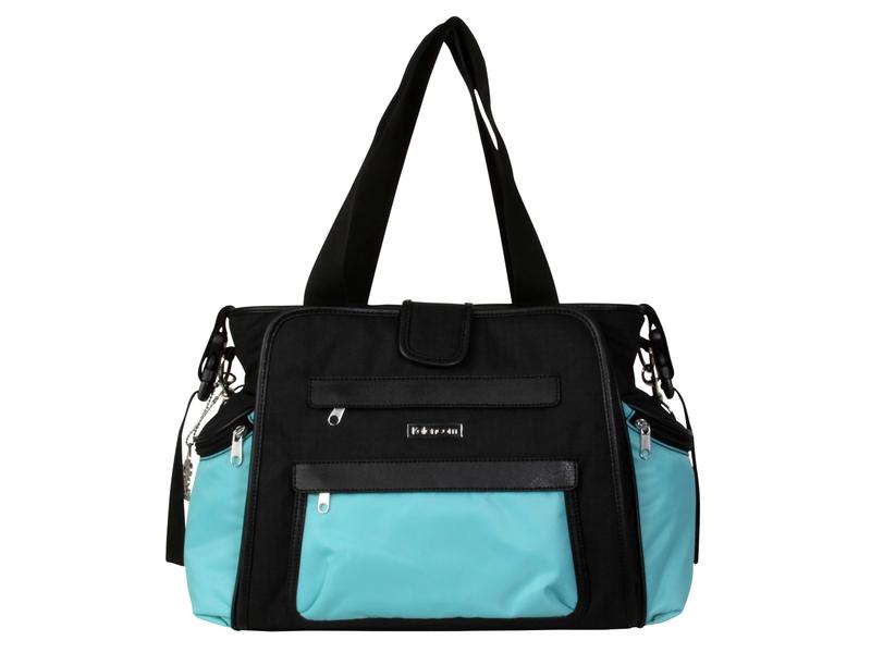 Přebalovací taška Nola Black/Aquarelle