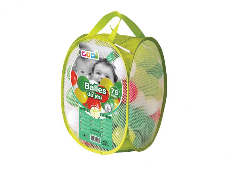 Míčky zelené 75 ks