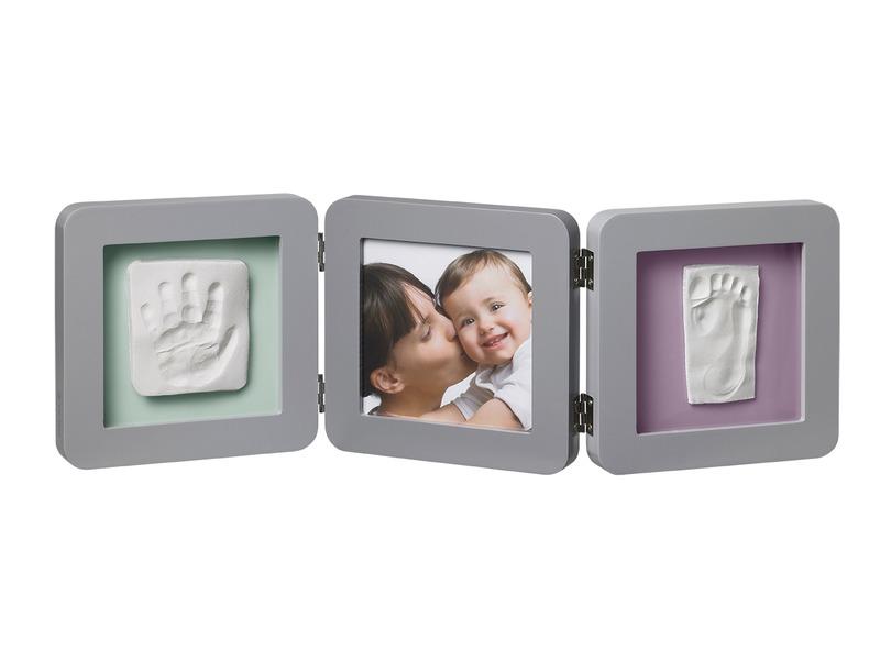 Baby Art Rámeček Double Print Frame Grey