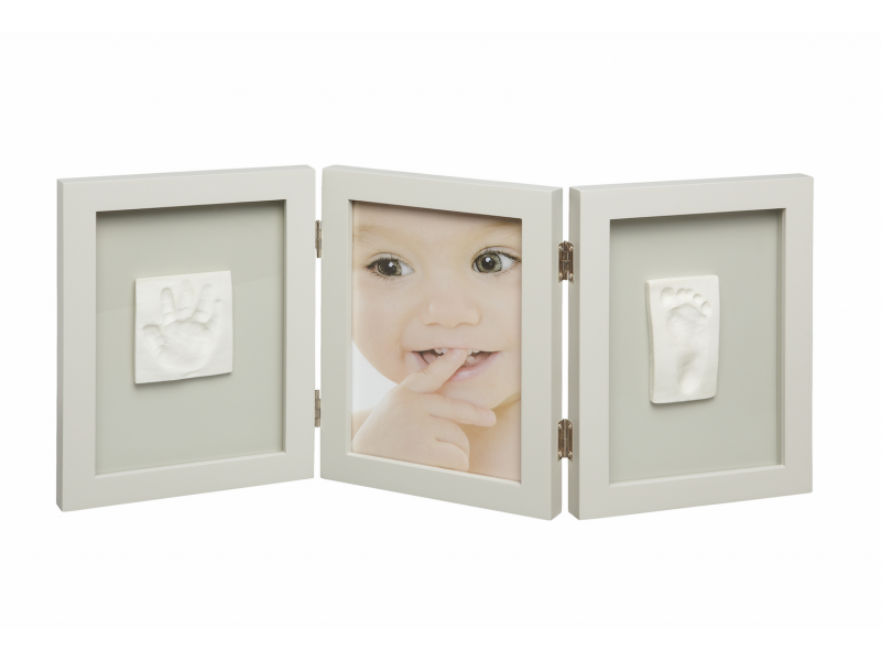 Rámeček Photo Frame 2 Baby Prints Taupe