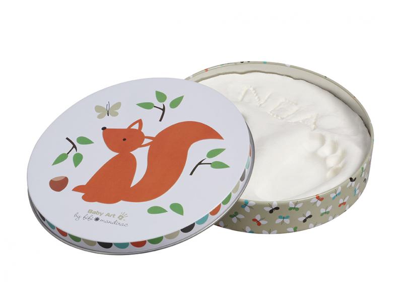 Baby Art Sada pro otisk Magic Box Squirrel (limitovaná edice)