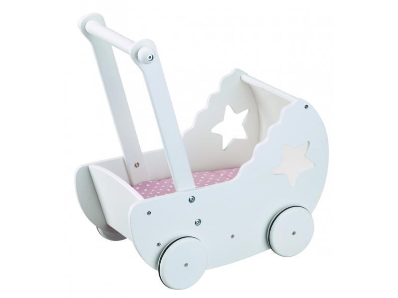 Kids Concept kočiarik drevený Princess