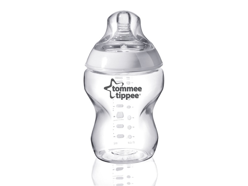 Dojčenská fľaša C2N, 1ks 260ml, 0m+.