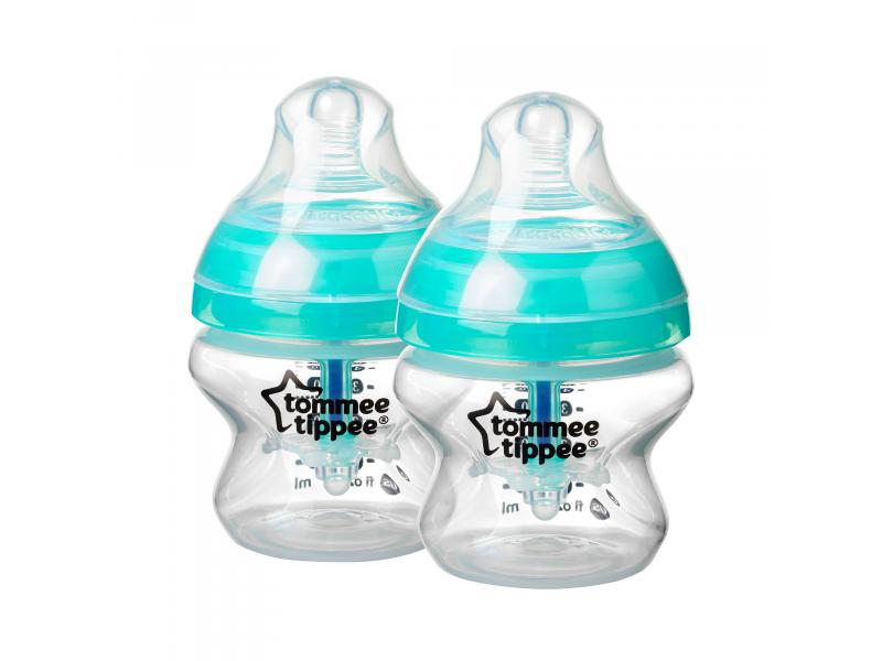 Dojčenská fľaša C2N ANTI-COLIC 2ks 150ml 0m +